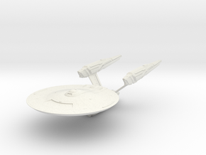 Discovery time line USS Enterprise II in White Natural Versatile Plastic