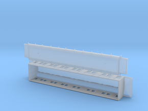 ABo1 modell 91 - Swedish passenger wagon in Smooth Fine Detail Plastic