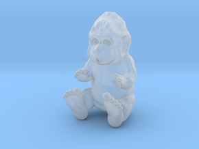 Baby Sasquatch in Smooth Fine Detail Plastic