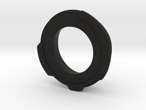 Retina IIIc Schneider lens adapter to Praktica(M42 in Black Natural Versatile Plastic