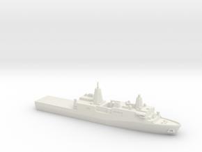San Antonio-class LPD, 1/2400 in White Natural Versatile Plastic