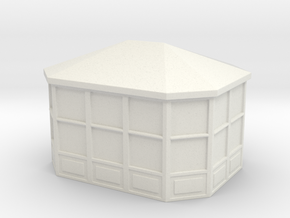 Gazebo 1/200 in White Natural Versatile Plastic