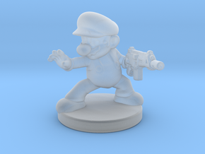 Mario Bros survivor 1/60 miniature for games rpg in Smooth Fine Detail Plastic