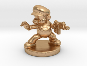 Mario Bros survivor 1/60 miniature for games rpg in Natural Bronze