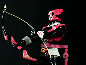 Psycho Pink Accessory - Power Rangers  in White Natural Versatile Plastic