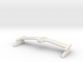 1/1000 TOS Style Weapons Rollbar in White Premium Versatile Plastic