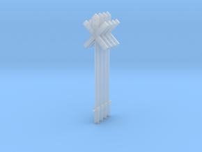 poteaux PN SNCB MNSB moderne HO  mod signeulx 4 pc in Smooth Fine Detail Plastic: 1:87 - HO
