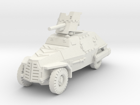 Marmon Herrington mk2 (Pak 36) 1/72 in White Natural Versatile Plastic