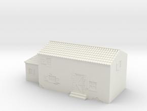 Italian style house 1/100 in White Natural Versatile Plastic