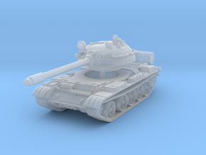 T55 Tank 1/285 in Smooth Fine Detail Plastic