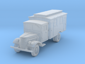 Ford V3000 Radio late 1/285 in Smooth Fine Detail Plastic