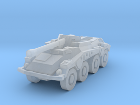 Sdkfz 234 1/285 in Smooth Fine Detail Plastic