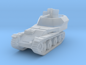 Flakpanzer 38 t scale 1/285 in Smooth Fine Detail Plastic