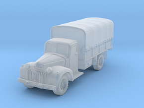 Dodge D15 (covered) scale 1/285 in Smooth Fine Detail Plastic