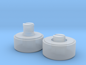 35mm Film to 120 Spool Adapter in Smooth Fine Detail Plastic