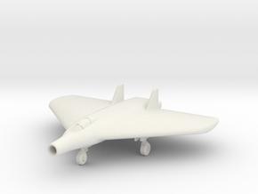(1:144) Lippisch Delta VI Lorin Ramjet (Gear down) in White Natural Versatile Plastic