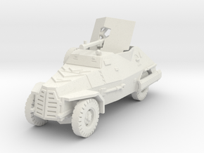 Marmon Herrington mk2 (20mm gun) 1/87 in White Natural Versatile Plastic