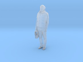 Printle C Homme 514 - 1/50 - wob in Smooth Fine Detail Plastic