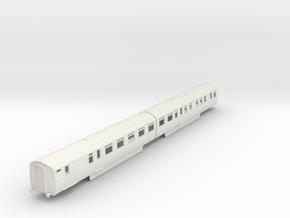 b-87-lner-coronation-twin-rest-3rd-brake in White Natural Versatile Plastic