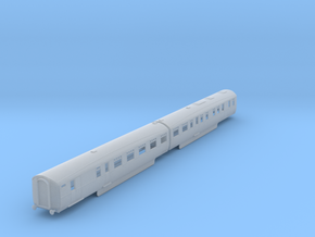 b-148fs-lner-coronation-twin-rest-3rd-brake in Smooth Fine Detail Plastic