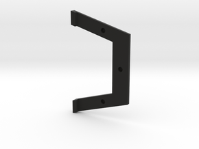 HPI sprint 2 locking plate in Black Natural Versatile Plastic