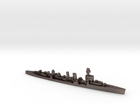 ORP Conrad formally HMS Danae 1:3000 WW2 cruiser in Polished Bronzed-Silver Steel