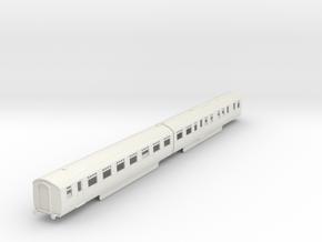 b-87-lner-coronation-twin-rest-open-3rd in White Natural Versatile Plastic