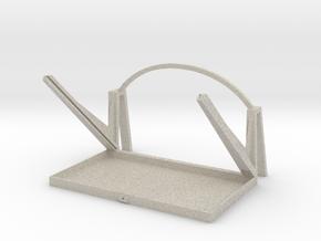 3D Prompter in Natural Sandstone