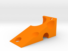 Cheese Wedge in Orange Processed Versatile Plastic