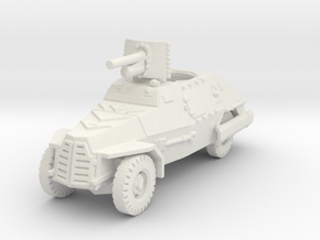 Marmon Herrington mk2 (47mm gun) 1/120 in White Natural Versatile Plastic