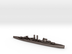 HMS Surrey 1:1800 WW2 proposed cruiser in Polished Bronzed-Silver Steel
