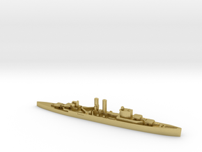 HMS Surrey 1:2400 WW2 proposed cruiser in Natural Brass