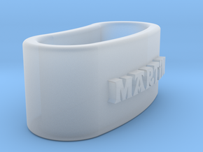 MARTIN 3D Napkin Ring with lauburu in Smooth Fine Detail Plastic