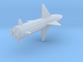 1:72 Miniature Prithvi Missile in Smooth Fine Detail Plastic: 1:72