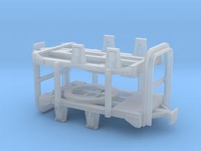 zwei gebremste TTf Drehgestelle in Smoothest Fine Detail Plastic