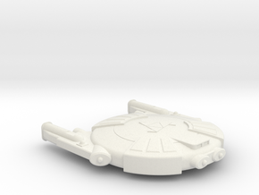 3788 Scale Andromedan Eel Scout SRZ in White Natural Versatile Plastic
