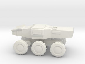 Multipurpose Space Utility Truck in White Natural Versatile Plastic