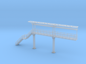 N Scale Tank Car loading Platform 2+stairs in Smooth Fine Detail Plastic