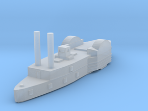 1/1000 USS Lexington in Smooth Fine Detail Plastic