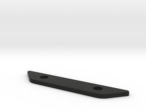 06-15 Yamaha FZ1 Passenger Peg Delete - flat in Black Natural Versatile Plastic