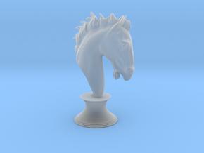 Horse's head in Smooth Fine Detail Plastic: Medium