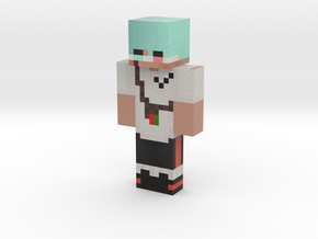 Herr_Banane | Minecraft toy in Natural Full Color Sandstone
