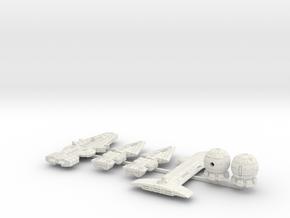 QSR Package: TFN versus KON (Sprued) in White Natural Versatile Plastic