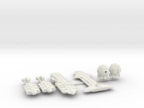QSR Package: GSN versus TFN (sprued) in White Natural Versatile Plastic