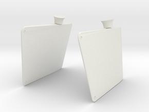 Best Cost 1/100 DKM Bismarck Rudders in White Natural Versatile Plastic