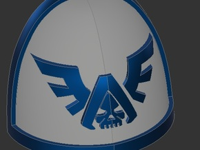 Angels of Vengeance Shoulder Pads X10 in Smooth Fine Detail Plastic