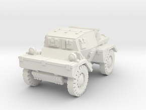 Daimler Dingo mk1 (closed) 1/100 in White Natural Versatile Plastic