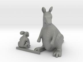 S Scale Koala Bear  and Kangaroo in Gray PA12