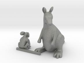 O Scale Koala Bear  and Kangaroo in Gray PA12