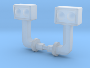 1/50 988F lights in Smooth Fine Detail Plastic